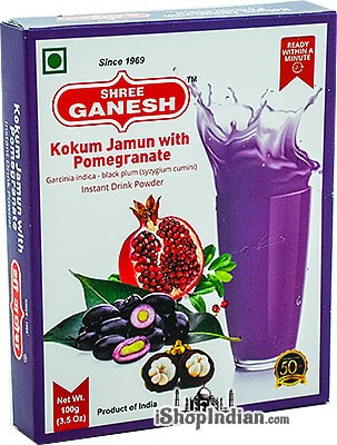Shree Ganesh Kokum Jamun With Pomegranate Instant Drink Powder