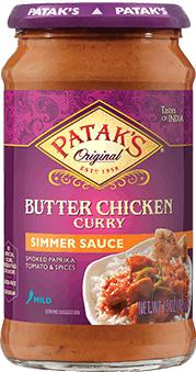Patak's Butter Chicken Simmer Sauce (mild)