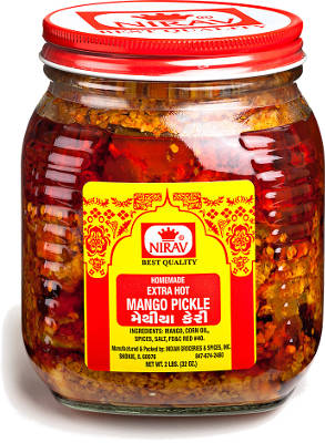 Nirav Extra Hot Mango Pickle