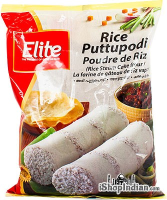Elite Rice Puttupodi (Rice Steam Cake Flour)