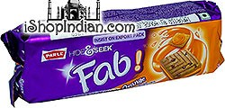 Parle Hide & Seek Fab! - Orange Cream Sandwich Cookies