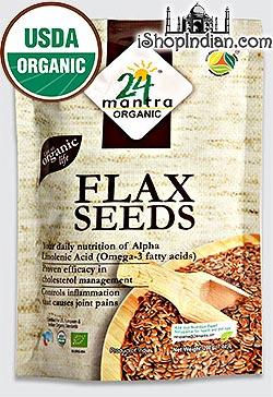 24 Mantra Organic Flax Seeds (Alsi Seeds)