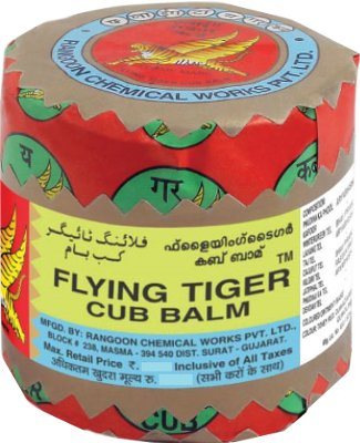 Flying Tiger Cub Balm (RED)