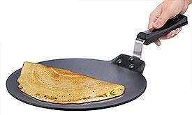 Futura Non-Stick Flat Griddle Dosa Tava, 11-Inch (Q28)