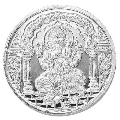 Ganesha .999 Silver Coin - 10 gms