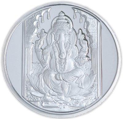 Ganesha .999 Silver Coin - 50 gms