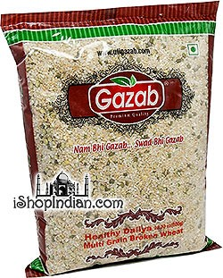 Gazab Healthy Daliya - Multi Grain Broken Wheat Mix