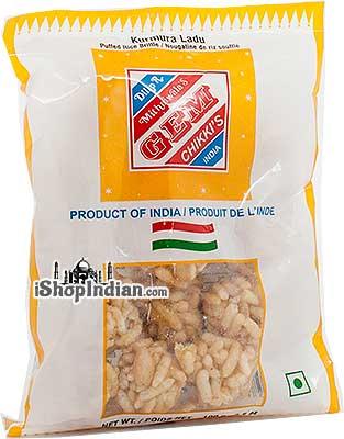 Puffed Rice Gems (Kurmura Ladu)