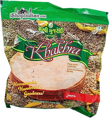 Garvi Gujarat Khakhra - Jeera (Cumin)