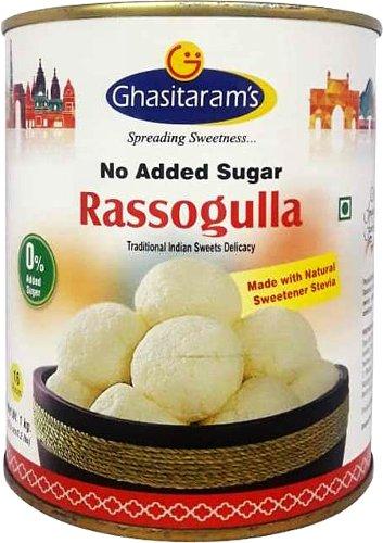 Ghasitaram's No Added Sugar Rossogulla
