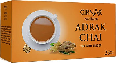 Girnar Adrak Chai - Tea with Ginger