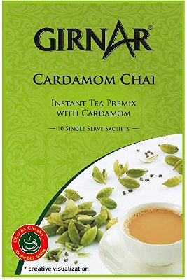 Girnar Instant Cardamom Chai Milk Tea