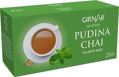 Girnar Pudina Chai - Tea with Mint