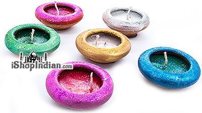 Sparkle Diya - 6 Pack