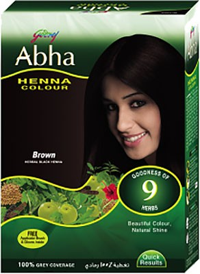 Godrej Abha Henna Color - Brown