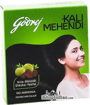 Godrej Kali Mehendi with Amla, Shikakai and Reetha Powder Hair Color