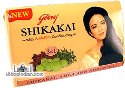 Godrej Shikakai Soap with AmlaPlus Conditioning (for hair)