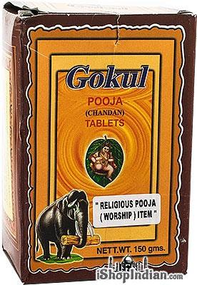 Gokul Pooja (Chandan) Tablets