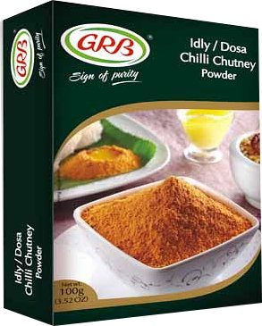 GRB Idly/Dosa Chilli Chutney Powder