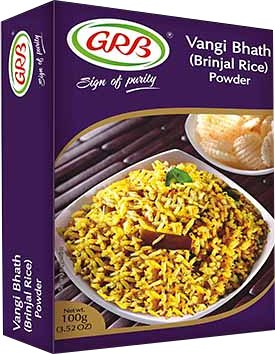 GRB Vangi Bhath (Brinjal Rice) Powder
