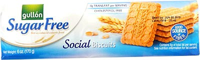 Gullon Sugar Free Social Biscuits