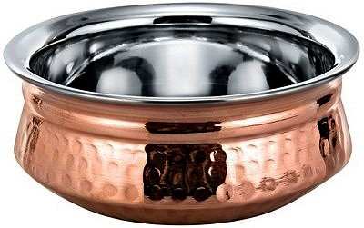 Copper Bottom Haandi - Serving Bowl - 6.75""