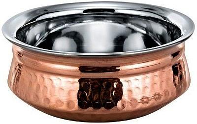 "Copper Bottom Haandi - Serving Bowl - 5"""