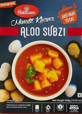 Haldiram's Aloo Subzi - Minute Khana (Ready-to-Eat)