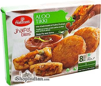 Haldiram's Aloo Tikki (FROZEN)