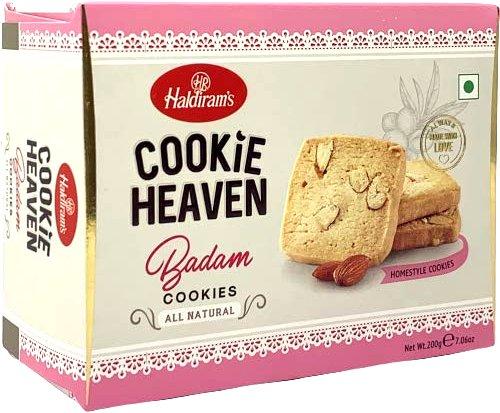 Haldiram's Cookie Heaven - Badam / Almond Cookies