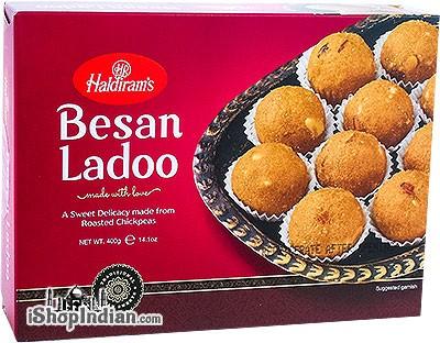Haldiram's Fresh Besan Ladoo