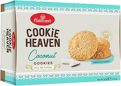 Haldiram's Cookie Heaven - Coconut Cookies