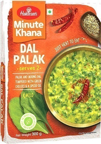Haldiram's Dal Palak - Minute Khana (Ready-to-Eat)
