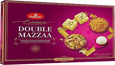 Haldiram's Double Mazzaa - Snack & Sweet Gift Pack