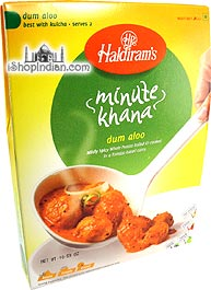 Haldiram's Dum Aloo - Minute Khana (Ready-to-Eat)