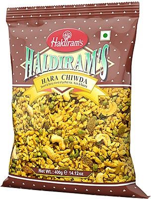 Haldiram's Hara Chiwda Snack Mix