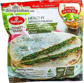 Haldiram's Healthy Spinach Paratha - 4 pcs (FROZEN)