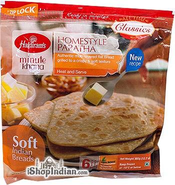 Haldiram's Homestyle Paratha - 6 pcs (FROZEN)