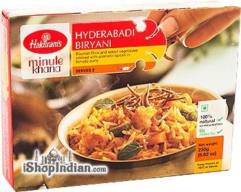 Haldiram's Hyderabadi Biryani (FROZEN)