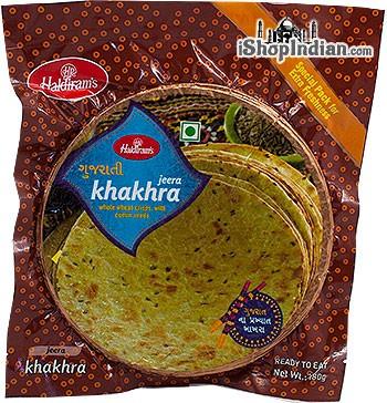 Haldiram's Khakhra - Jeera (Cumin) Flavor