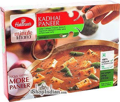 Haldiram's Kadhai Paneer (FROZEN)