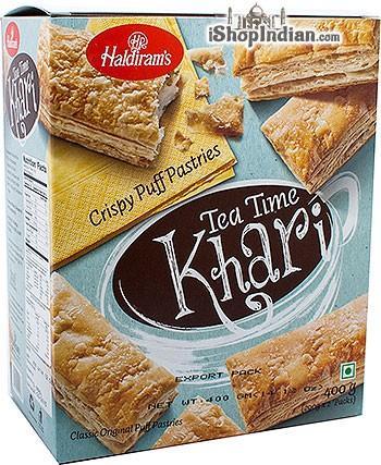 Haldiram's Tea Time Khari (Puff Pastry) Classic Original - 7 oz