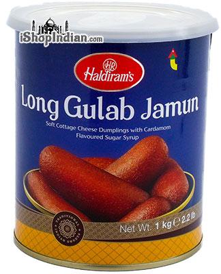 Haldiram's Long Gulab Jamun