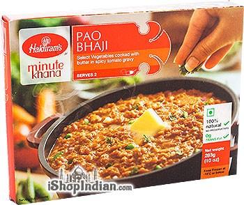 Haldiram's Pao Bhaji (FROZEN)