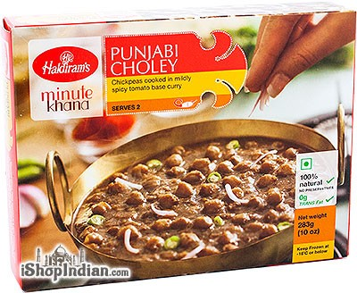 Haldiram's Punjabi Choley (FROZEN)