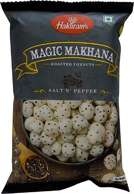 Haldiram's Magic Makhana - Salt N Pepper