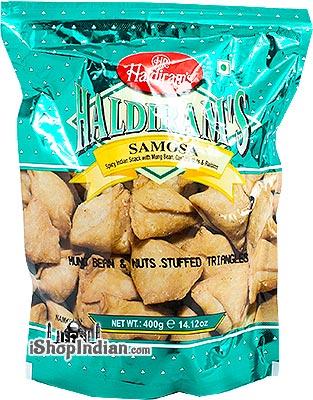 Haldiram's Samosa Snack - 14 oz