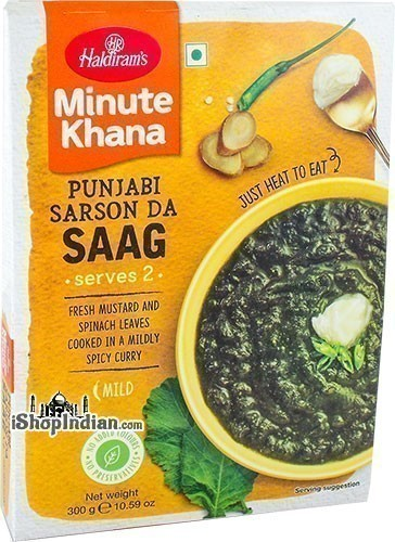 Haldiram's Sarson Ka Saag (Ready-to-Eat)
