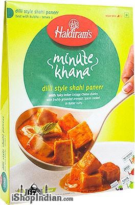Haldiram's Dilli Style Shahi Paneer - Minute Khana (Ready-to-Eat)