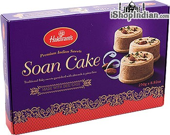 Haldiram's Soan Cake - 250 gms